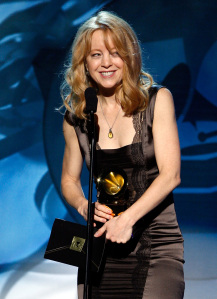 LOS ANGELES, CA - FEBRUARY 10:  Maria Schneider onstage during the 50th annual Grammy awards pre-telecast show held at the Staples Center on February 10, 2008 in Los Angeles, California.  (Photo by Kevin Winter/Getty Images)