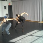Mitzi and Claire at the Baryshnikov Ats Center