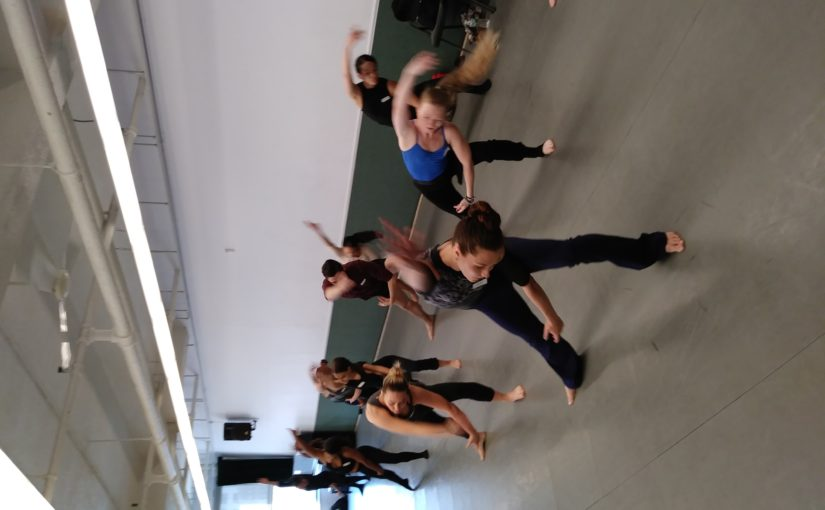Sweating it Out in June's Master Class