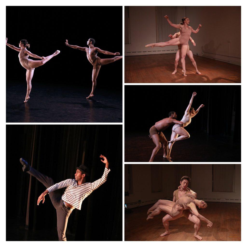 Dancers: Heidi Sutherland, James A. Pierce III, Claire Hancock, Paulo Gutierrez